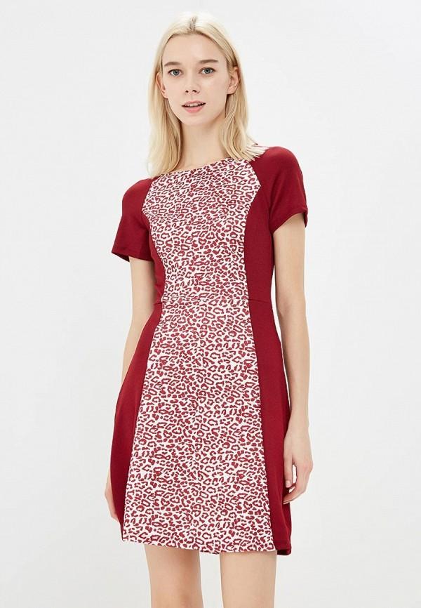 Фото - женское платье Modis бордового цвета