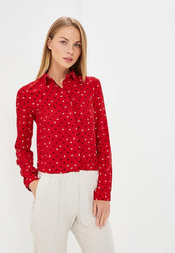 женская блузка modis, красная