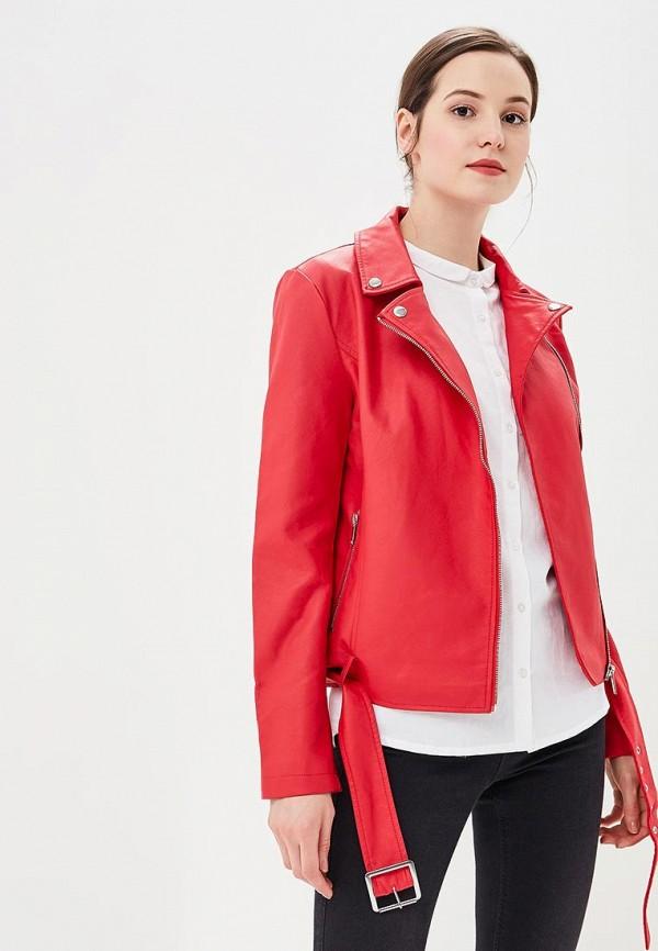 Купить Куртка кожаная Modis, MO044EWCBST3, красный, Осень-зима 2018/2019