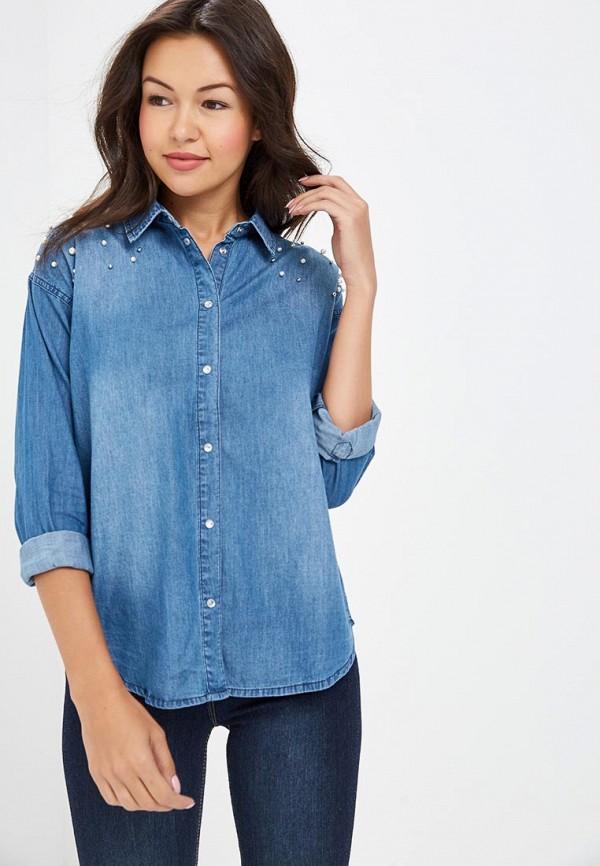 Рубашка джинсовая Modis Modis MO044EWCNOF4 цена 2017