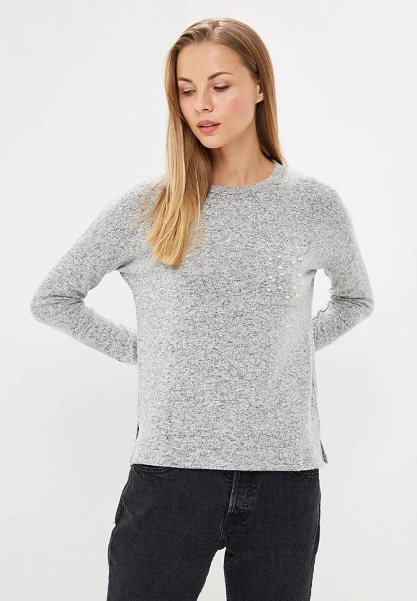 женский джемпер modis, серый