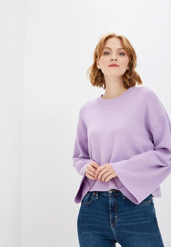 женский джемпер modis, фиолетовый