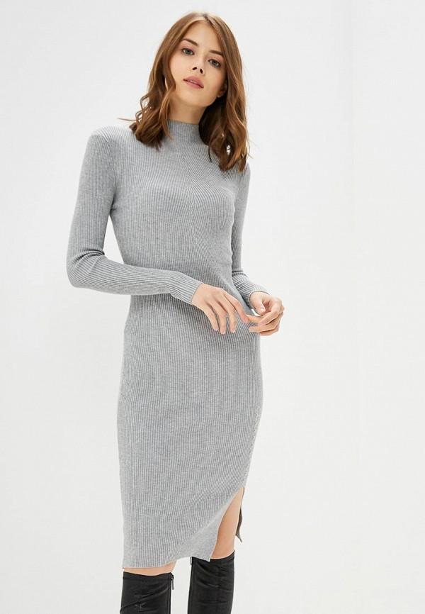 женское платье modis, серое