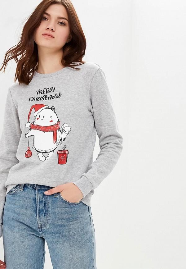 Купить Свитшот Modis, MO044EWCVUW0, белый, Осень-зима 2018/2019