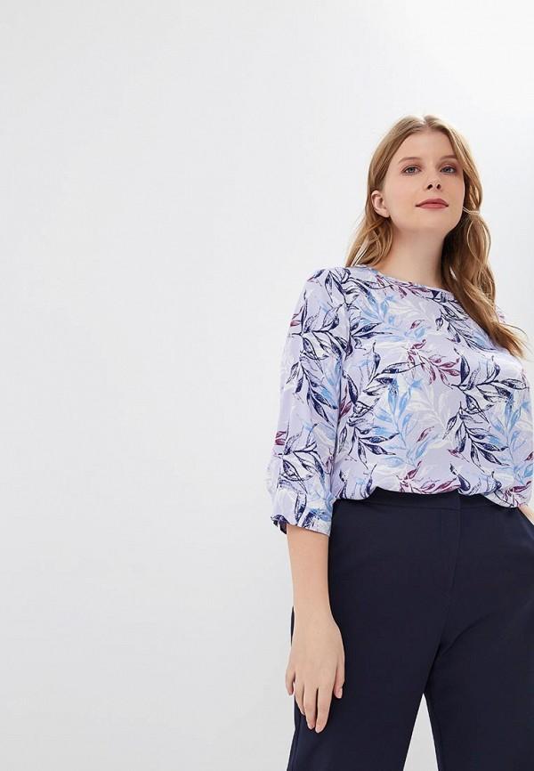 женская блузка modis, фиолетовая