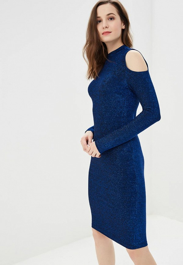 женское вечерние платье modis, синее
