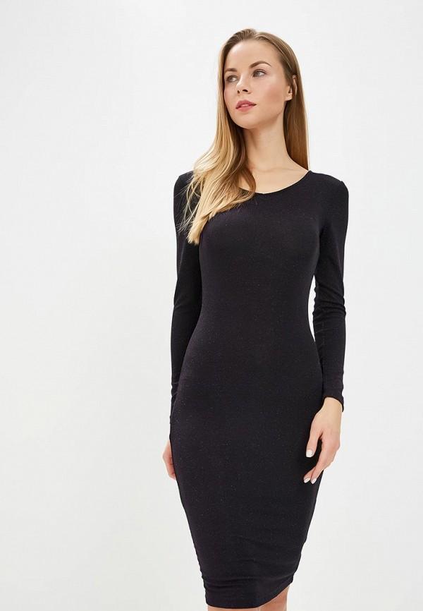 женское платье-футляр modis, фиолетовое