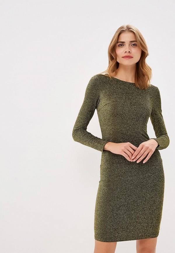 женское вечерние платье modis, золотое