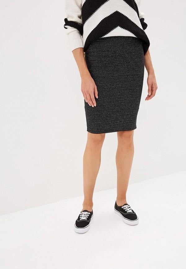 женская зауженные юбка modis, черная