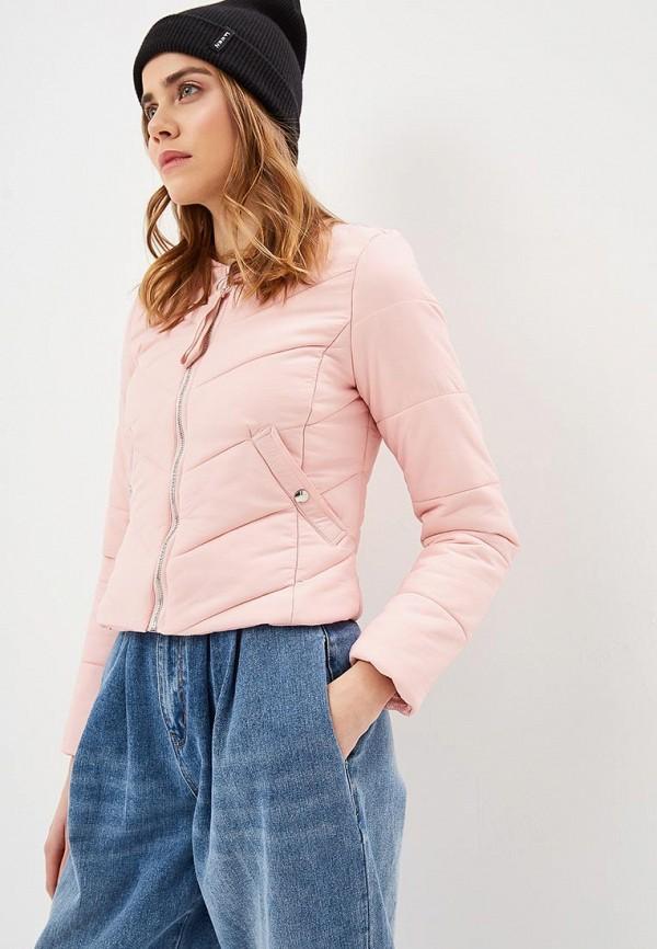 женская куртка modis, розовая
