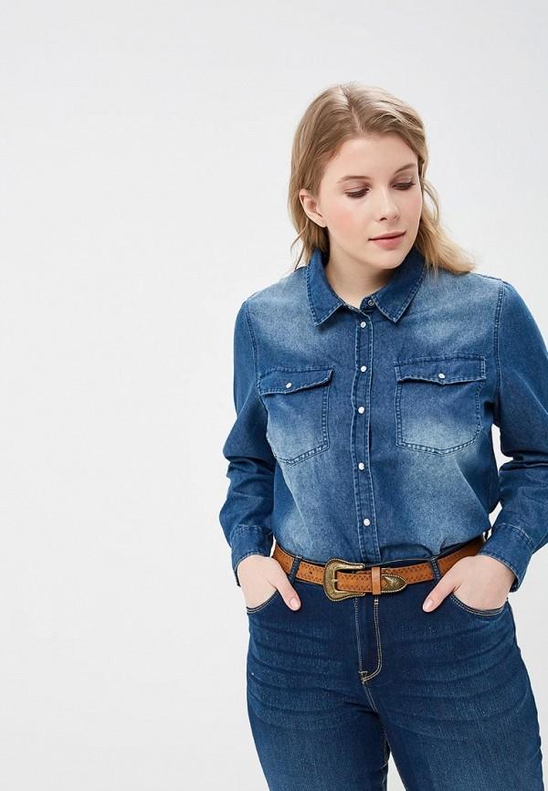 Купить Рубашка джинсовая Modis, mo044ewebda9, синий, Весна-лето 2019