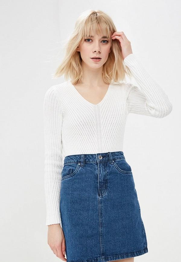 женский пуловер modis, белый