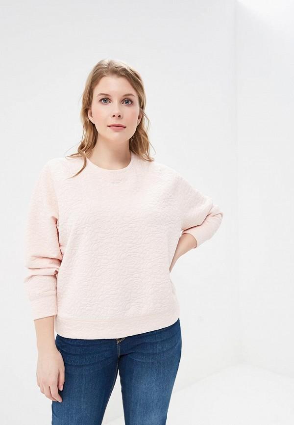 женский свитшот modis, розовый