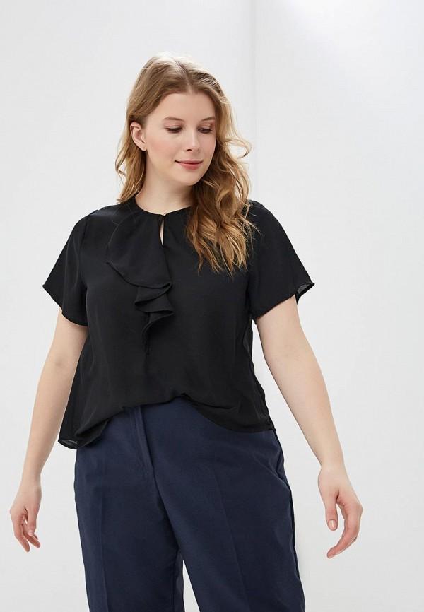 Фото - женскую блузку Modis черного цвета