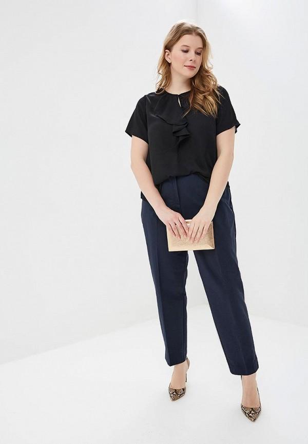 Фото 2 - женскую блузку Modis черного цвета