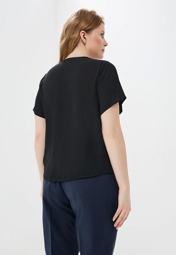 Фото 3 - женскую блузку Modis черного цвета