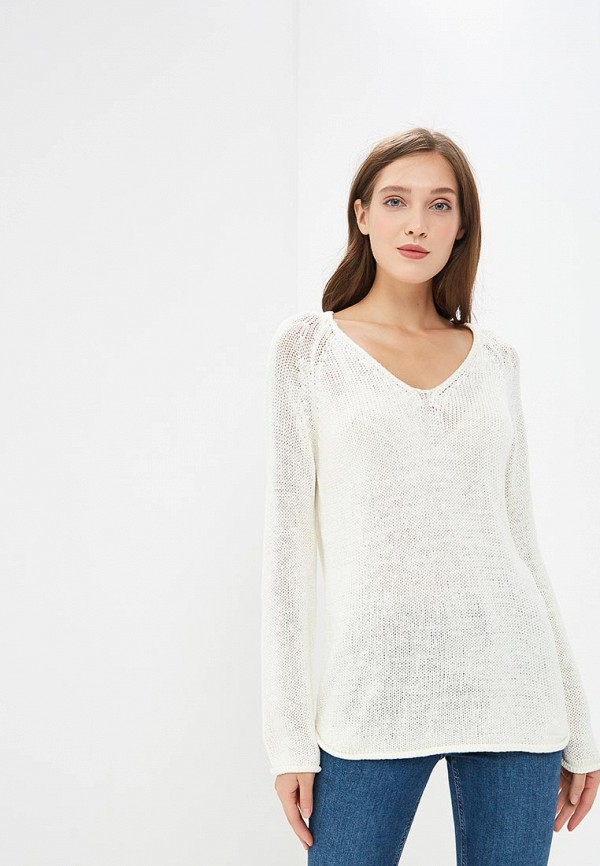 женский пуловер modis, бежевый