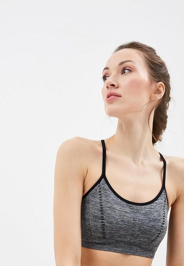 женский спортивные бюстгальтер modis, серый