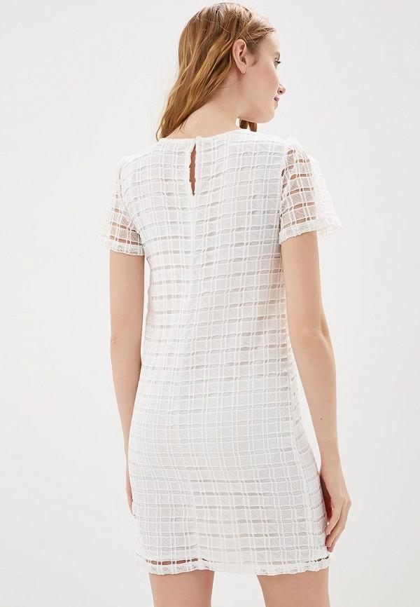 Фото 3 - женское платье Modis белого цвета