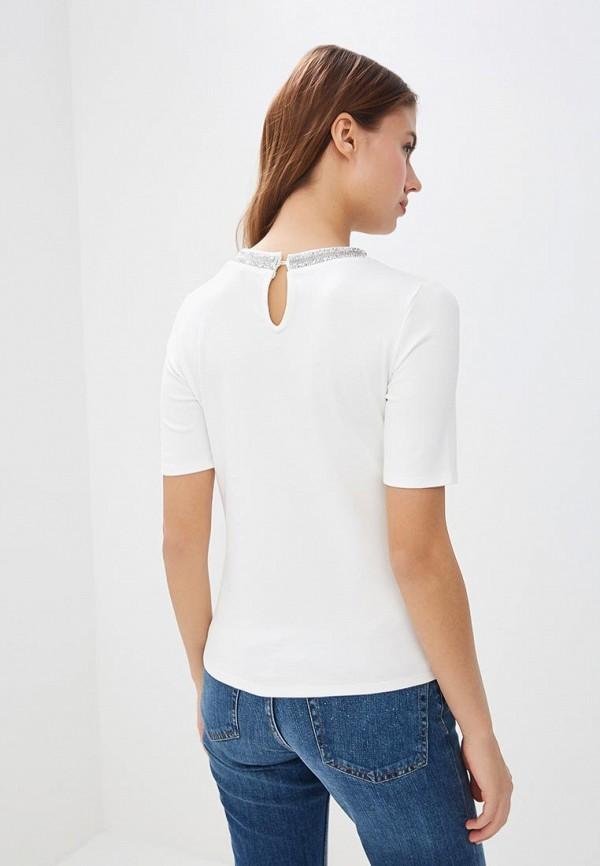 Фото 3 - женскую блузку Modis белого цвета