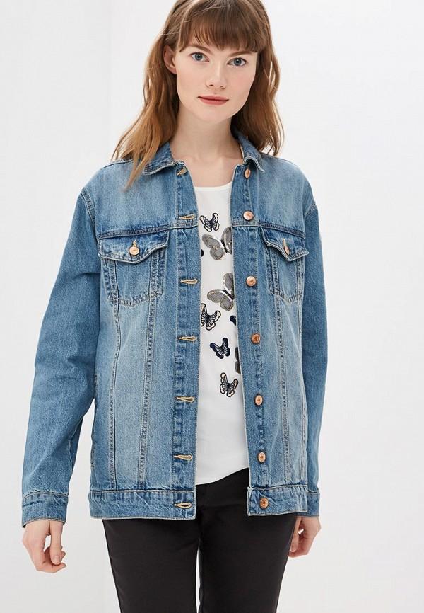 купить Куртка джинсовая Modis Modis MO044EWEZBD0 недорого