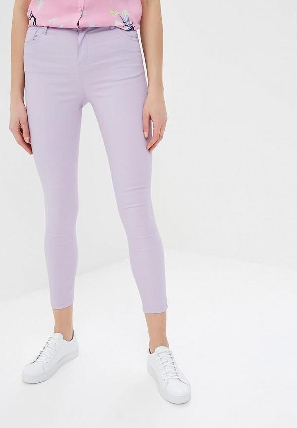 женские повседневные брюки modis, фиолетовые