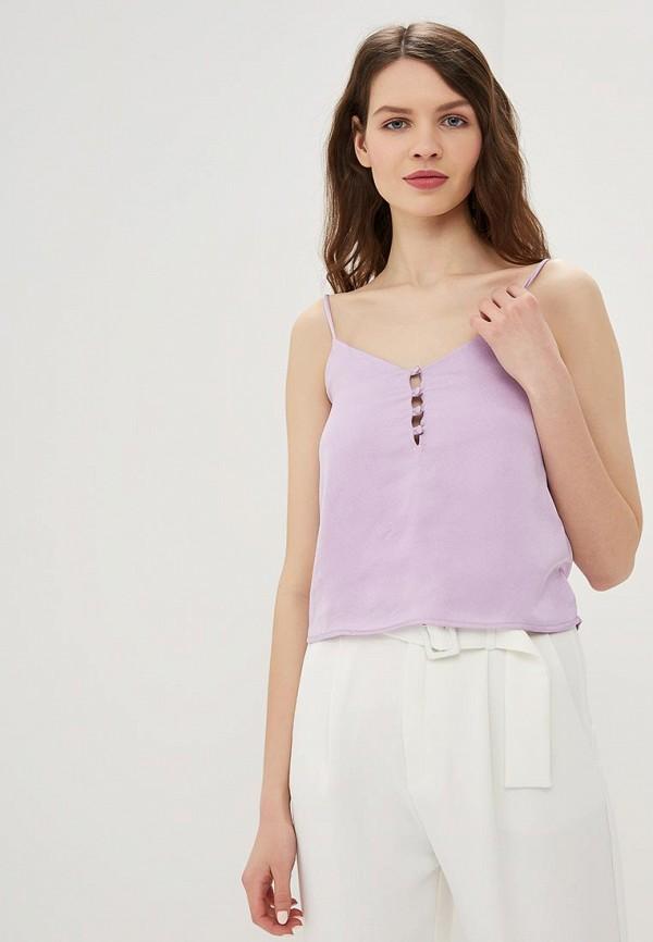 женский топ modis, фиолетовый