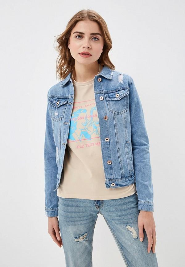купить Куртка джинсовая Modis Modis MO044EWFCLR6 недорого