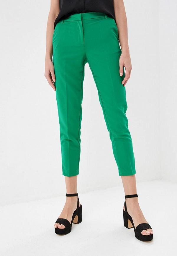 женские повседневные брюки modis, зеленые