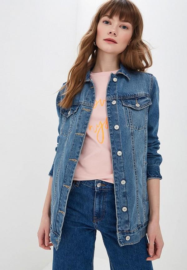 купить Куртка джинсовая Modis Modis MO044EWFENK4 недорого