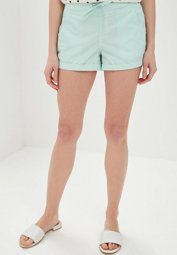 женские повседневные шорты modis, зеленые