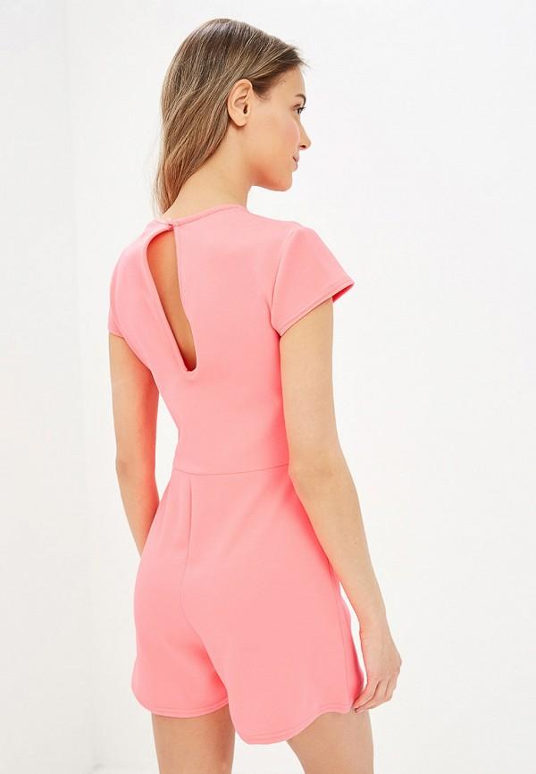 Фото 3 - женский комбинезон Modis розового цвета