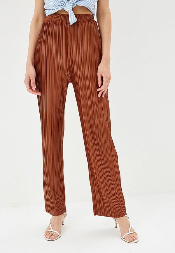 женские повседневные брюки modis, коричневые