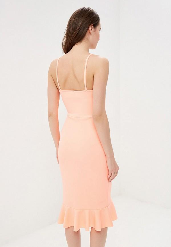 Фото 3 - женское платье Modis розового цвета
