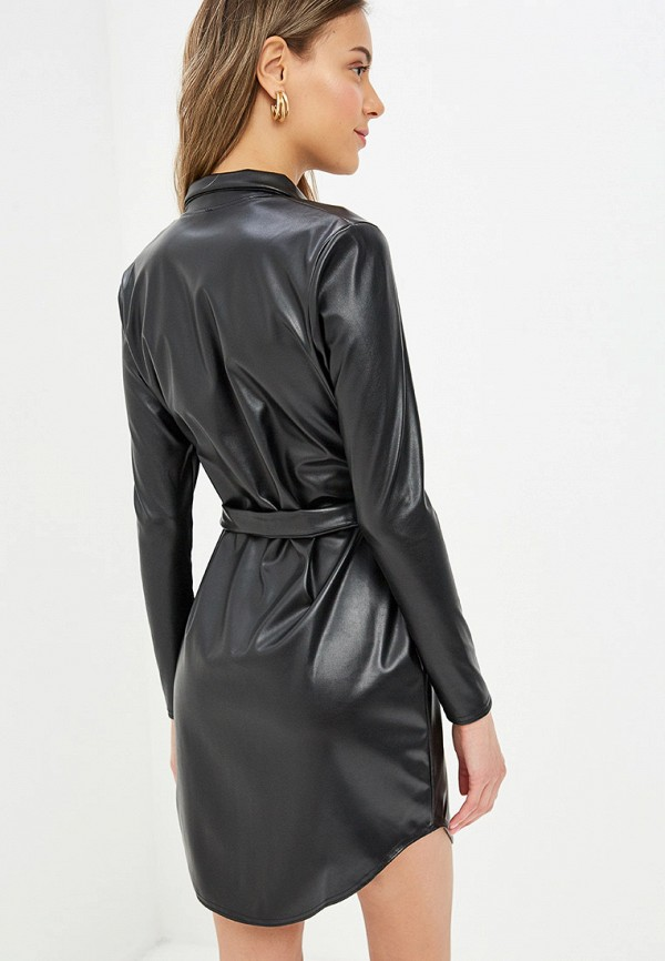 Фото 3 - женское платье Modis черного цвета