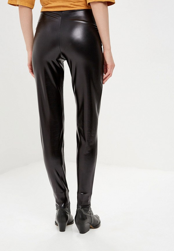 Фото 3 - женские брюки Modis черного цвета