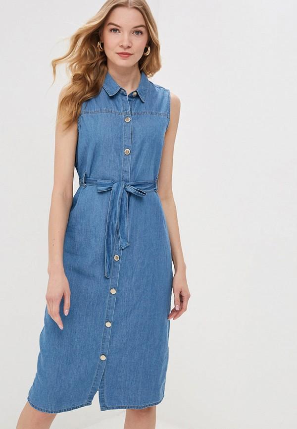 купить Платье джинсовое Modis Modis MO044EWFHUM5 дешево