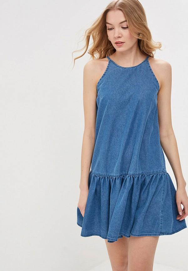 купить Платье джинсовое Modis Modis MO044EWFHUM6 онлайн