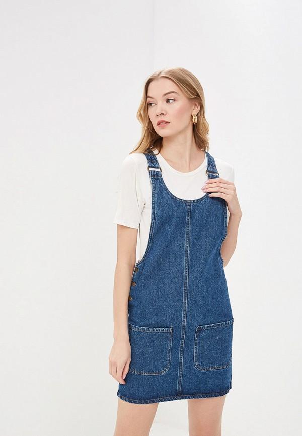 цена Платье джинсовое Modis Modis MO044EWFHUM9 онлайн в 2017 году