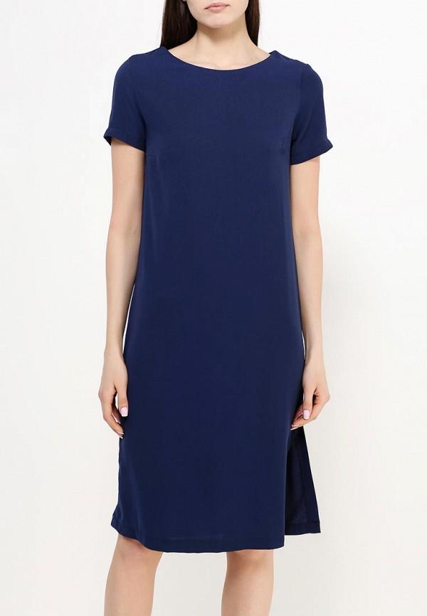 Фото 3 - женское платье Modis синего цвета