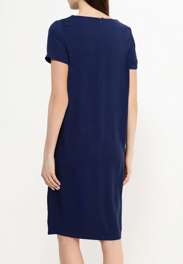 Фото 4 - женское платье Modis синего цвета