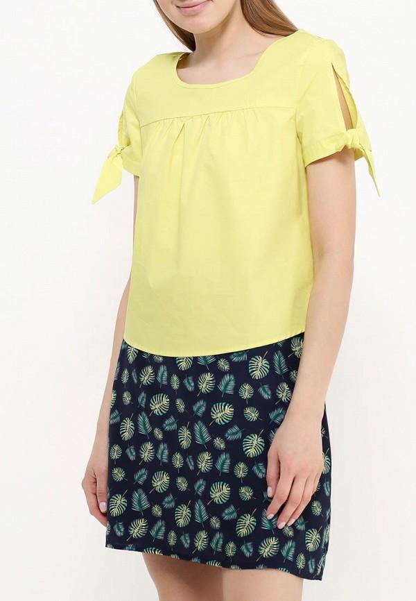 Фото 3 - женскую блузку Modis зеленого цвета