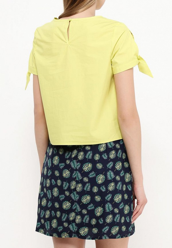 Фото 4 - женскую блузку Modis зеленого цвета