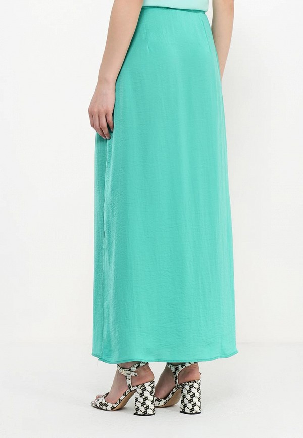Фото 4 - женскую юбку Modis зеленого цвета