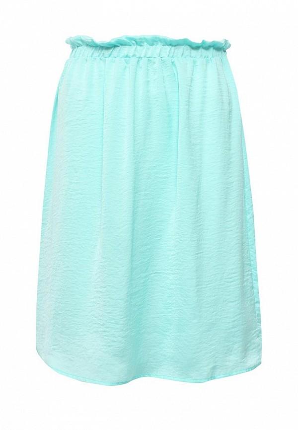 Фото - женскую юбку Modis бирюзового цвета