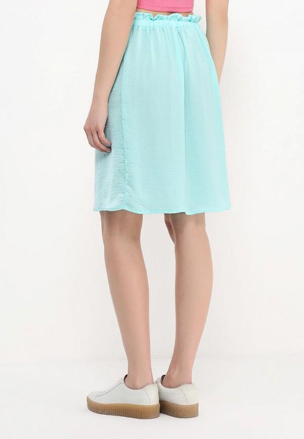 Фото 4 - женскую юбку Modis бирюзового цвета