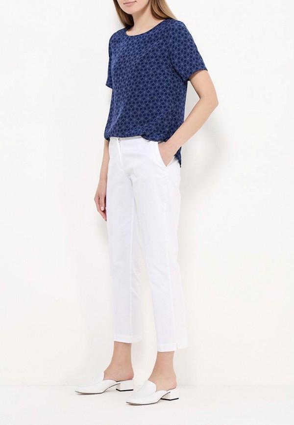 Фото 2 - женскую блузку Modis синего цвета