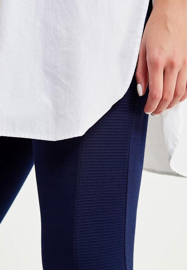 Фото 4 - женские леггинсы Modis синего цвета