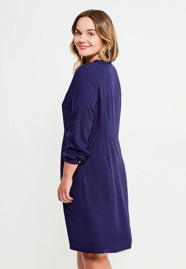 Фото 2 - женское платье Modis синего цвета