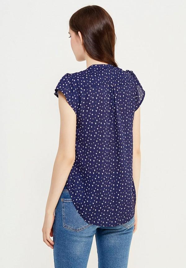 Фото 3 - женскую блузку Modis синего цвета